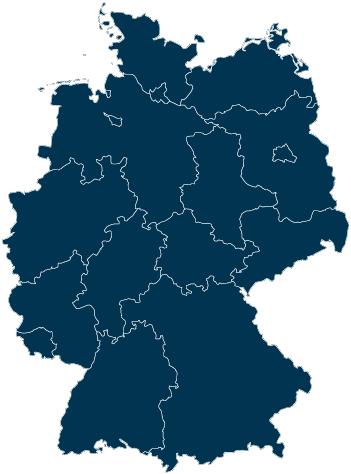 Bundesländer Map