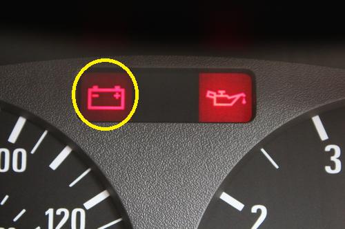 Batterie Kontrollleuchte Auto