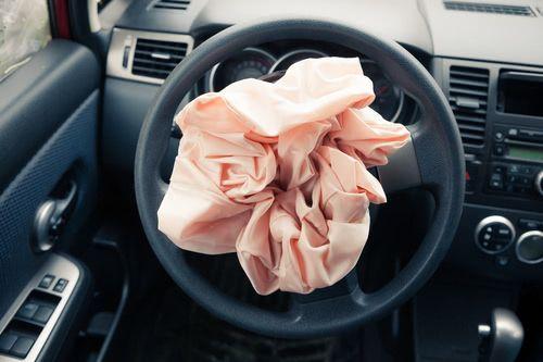 Steuergerät Airbag ausgelöst